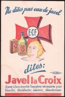 Buvard - E.C.F - Javel Le Croix - Produits Ménagers
