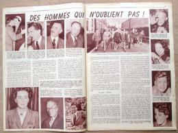 """Magazine Avec Article """"Comète, Rapatriement D'aviateurs """"I Shall Never Forget"""" 1954 - 1939-45"""