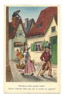 Humour. Jeune Fille Dans La Rue, Traces De Mains Sur Les Fesses. Passants, Ramoneur,... - Illustrateurs & Photographes