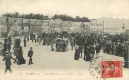 """/ CPA FRANCE 33 """"Bordeaux,les Quinconces, La Foire"""" - Bordeaux"""