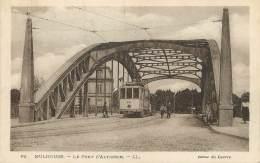 """/ CPA FRANCE 68 """"Mulhouse, Entrée De La Ville""""le Pont D'Altkirch"""" / TRAMWAY - Mulhouse"""