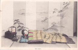 Bc - Cpa Japon - Good Night (geisha Allongée) - Japan