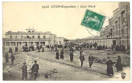 Cpa Lyon Exposition - Cour Nord - Lyon