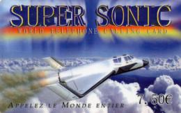 CARTE PREPAYEE  SUPER SONIC  *7,50e  9637 - France