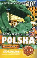 CARTE PREPAYEE  IRADIUM *10e Polska  4431 - France