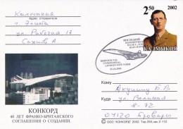Concorde - Carte - Avions