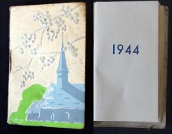 Calendrier  Bijou Gaufré  1944 - Calendriers