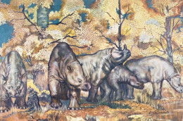 Brontotheriidae (encore Appelés Titanothères, Animaux Du Tonnerre) - Rhinocéros