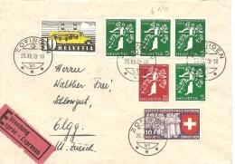 Schweiz, 1939, Express, Zofingen - Elgg, Mit Z25c + Kontrollnummer, Siehe Scans! - Switzerland