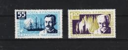 1958 -  Naturaliste Emil Racovita Mi No 1731/1732 Et Yv No 1590/1591 MNH - 1948-.... Republiken