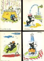 GRLT 18 Lassalvy Lot De 9 Cartes De Chien - Lassalvy