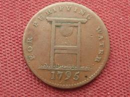 GRANDE BRETAGNE 1/2 Penny Londres 1795 Très Rare !!!!! - 1662-1816 : Anciennes Frappes Fin XVII° - Début XIX° S.