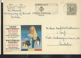 Publibel Obl. N° 1379 ( Tarif National; électricité, Fée, Prise) Obl: Bxl - Interi Postali