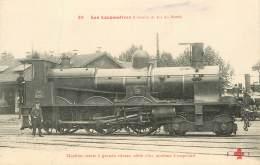 """CPA TRAIN / LOCOMOTIVE """"machine Mixte à Grande Vitesse"""" - Trains"""