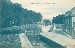 """CPA FRANCE 45 """"Briare, Les Bords Du Canal"""". - Briare"""