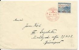 SLOVAQUIE - 1939 - ENVELOPPE FDC De L'OUVERTURE DU PARLEMENT SLOVAQUE à BRATISLAVA - Storia Postale