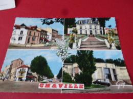92 CHAVILLE  Multivue Poste Mairie Jardins Gare Muguet  NON Circulee EDIT GUY - Chaville