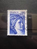 FRANCE Type Sabine De Gandon N°1963 Oblitéré - 1977-81 Sabine De Gandon