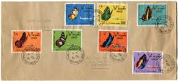 SOMALIE LETTRE PAR AVION DEPART HARGEISA G.P.O. 9 SP 61 SOMALI REPUBLIC POUR L'ETHIOPIE - Somalie (1960-...)
