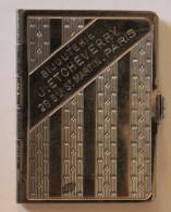Calendrier  Bijou Publicitaire  1935 Bijouterie Etcheverry Bld St Martin à Paris - Calendars