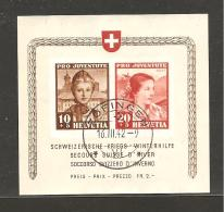 Schweiz, 1942, Kriegs-Winterhilfe, Pro Juventute, Zofingen 16.3.1942, Einwandfrei, Siehe Scans! - Enteros Postales