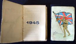 Calendrier  Bijou   1945 - Calendriers