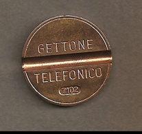 GETTONE TELEFONICO 7102 -  Anno 1971 - Altri