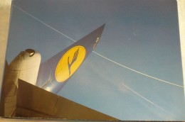 AIRLINES ISSUE / CARTE COMPAGNIE         LUFTHANSA   B 747 - 1946-....: Moderne