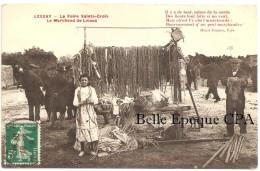 50 - LESSAY - La Foire Sainte-Croix - Le Marchand De Licous +++ Collection Lecrosnier +++ 1914 ++++ RARE - France