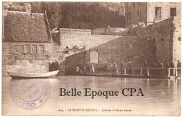50 - Le MONT-Saint-MICHEL - Arrivée à Marée Haute ++++ COLONIE De VACANCES Du 3 E Arrondissement De Paris ++++ 1931 - Le Mont Saint Michel