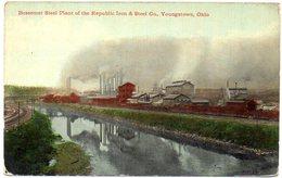 Bessemer Steel Plant Of The Republic Iron & Steel Company, YOUNGSTOWN - OHIO - ( Amerique ) - Non Classés
