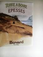 950 -  Suisse Vaud  Epesses  Terre à Boire Bovard Cully étiquette Neuve - Etiquettes