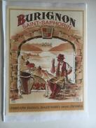 957 -  Suisse Vaud   St-Saphorin Burignon 2006 étiquette Autocollante Neuve - Etiquettes