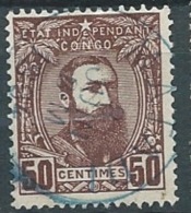 Congo Belge - Yvert N°9 Oblitéré - Ai21514 - Belgisch-Kongo