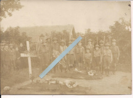 Scout Inhumation Prob Poilus 1914/1920 Scoutisme Patriotisme Doncoeur Tranchées Poilus 1914-1918 14-18 Ww1 Wk1 - War, Military