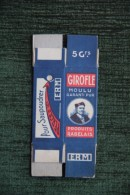 """Petite Boite En Carton """" PRODUITS RABELAIS - GIROFLE MOULU"""" - Labels"""