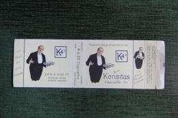 "Paquet De 20 Cigarettes "" K4´S "" - KENSITAS - Empty Cigarettes Boxes"