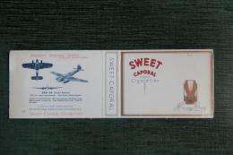 """Etui De Paquet De 20 Cigarettes """" SWEET CAPORAL """" - CANADA - Empty Cigarettes Boxes"""