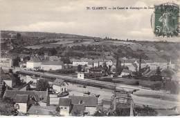 58 - CLAMECY : Le Canal Et Montagne - CPA - Nièvre - Clamecy