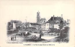 58 - CLAMECY : Le Pont De Jean Rouvet En 1830 - CPA Illustrée - Nièvre - Clamecy
