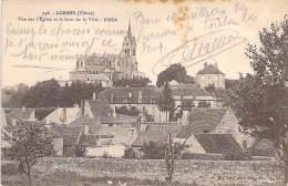 58 - LORMES :  Vue Sur L'Eglise Et Le Haut De La Ville - CPA - Nièvre - Lormes