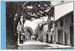 La ROQUEBRUSSANNE-entrée Du Village*route De Toulon-*-beau Plan -édition Combier -années 40-50 - La Roquebrussanne