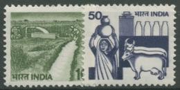 Indien 1982 Freimarken: Landwirtschaft 897/98 A Postfrisch - Ungebraucht