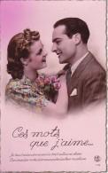 AK Liebespaar - Les Mots Que J'aime - Ca. 1920  (23394) - Paare