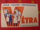 Buvard Vêtra. Vêtement De Travail. Vers 1950. - Löschblätter, Heftumschläge