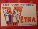 Buvard Vêtra. Vêtement De Travail. Vers 1950. - Blotters