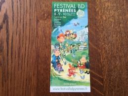 Marque Pages Festival Bd Pyrénées Billère - Marque-Pages