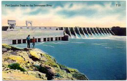 Fort Loudun Dam On The Tennessee River   ( Etats Unis ) - Etats-Unis