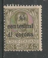 45c S 45c Olive - 8. WW I Occupation