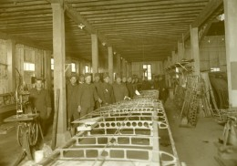 Atelier Aile D'Avion WWI AEF 2nd Aviation Instruction Centre Tours France Photo 1918 - War, Military